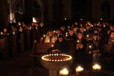 Projekt-Chor zur Nacht der Lichter